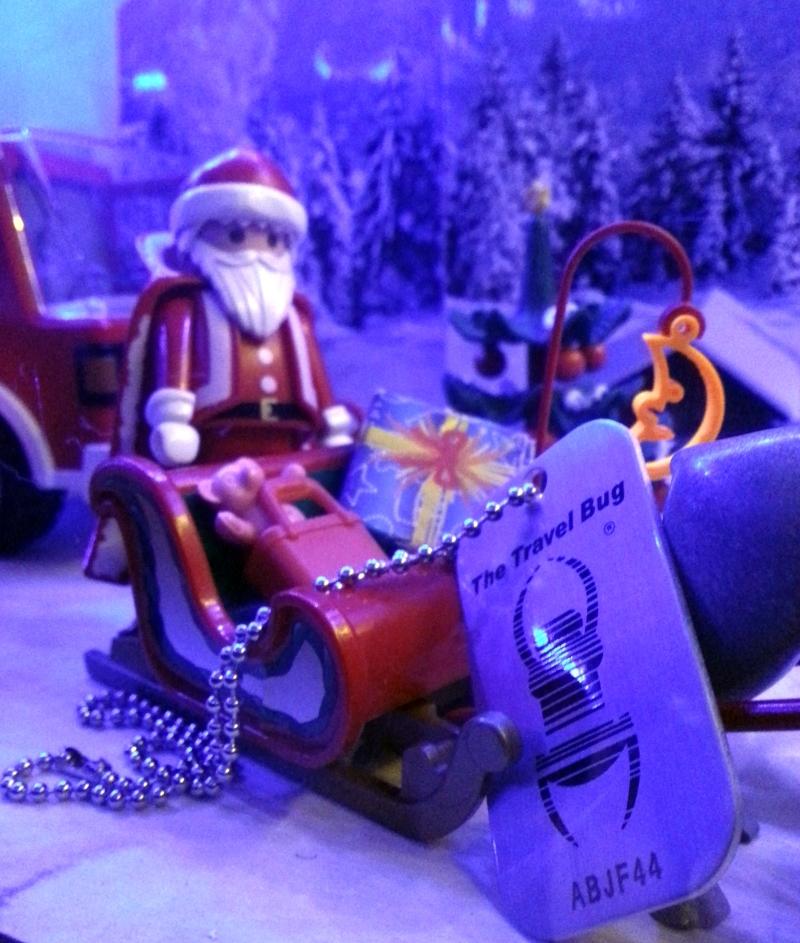 Weihnachtsmann mit TB